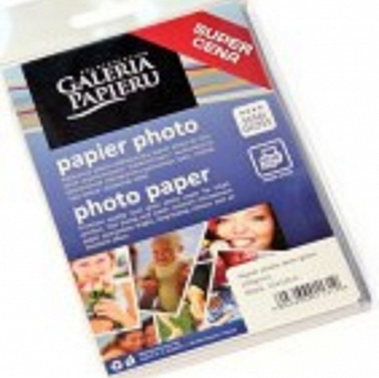 Papier photo glossy 200g dwustronny 25 ark. A4