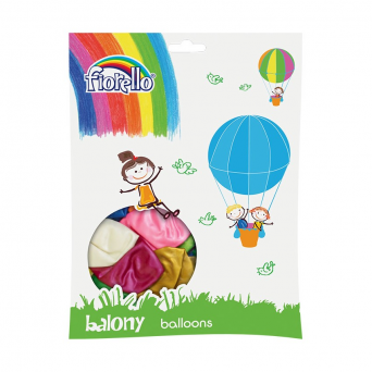 "BALON 12"" MIX METAL Fiorello"